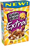 Kellogg's Raisin Bran Extra! Cereal, 14-Ounce Boxes (Pack of 5)