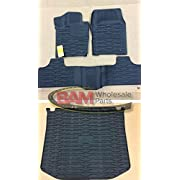 2013-2015 Jeep Grand Cherokee Front/Rear Slush Mats and Cargo Liner Combo by Mopar