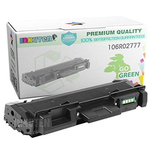 INKUTEN Compatible Toner Cartridge Replacement for Xerox 106R02777 High Yield (1 Black Toner) Compatible With Xerox Phaser 3260, Phaser 3260 /DNI, Phaser 3260/DI, WorkCentre 3215/NI, WorkCentre 3225/DNI