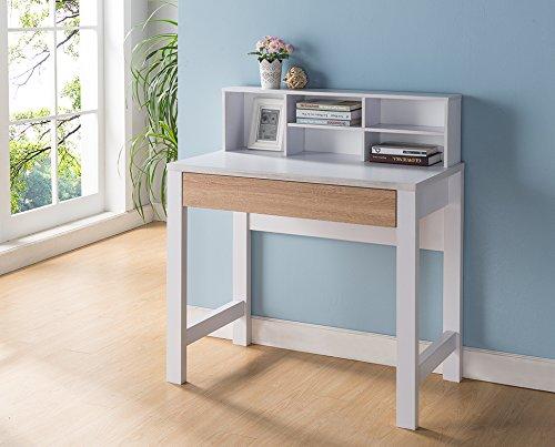Desk Country Writing - Smart Home 151417 Andrea Modern Home Office Desk