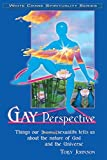 img - for Gay Perspective: Things Our Homosexuality Tells Us about the Nature of God & the Universe (White Crane Spirituality) by Edwin Clark Johnson (1-Oct-2008) Perfect Paperback book / textbook / text book
