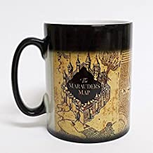Harry Potter inspired Marauders map morphing mug color changing 11 oz ceramic mug