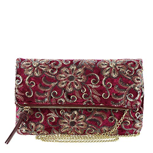 Fall For Florals Clutch Fall For Wine Florals F5nTnWzZwg