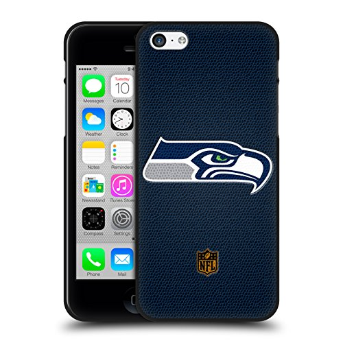 Official NFL Football Seattle Seahawks Logo Black Soft Gel C