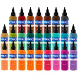 Intenze Tattoo Ink Set - 7 Best Selling Primary Colors 1/2 oz