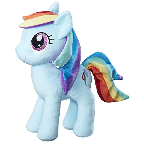 My Little Pony Friendship is Magic Rainbow Dash Cuddly Plush ()