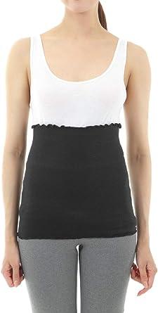 Casualbox Unisex Thermal Stomach Wrap Haramaki Belly Warmer Mens Womens Maternity Belt