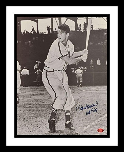 Stan Musial Autographed Photo - Stan Musial Signed Photo - Autographed MLB Photos