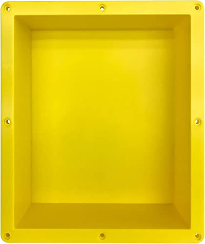 Uni-Green Rectangle Shower Niche Tile Ready, Easy for DIY Collage16 14 4 D, Recessed Shower Shelf