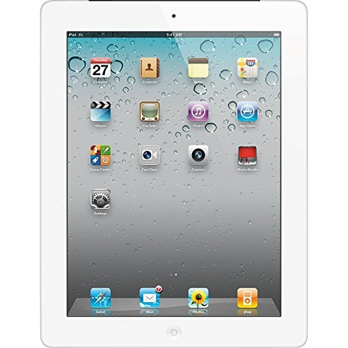 Apple iPad 3 Retina Display Tablet 32GB, Wi-Fi, White (Renewed)