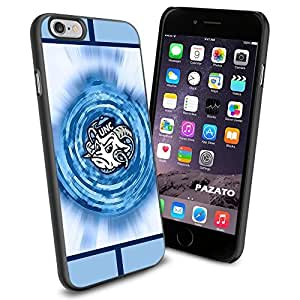 NCAA NC University of North Carolina Tar Heels #3 Cool iPhone 6 Smartphone Case Cover Collector iphone TPU Rubber Case Black