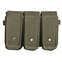 Fox Outdoor Products Rip-Away AR-15/AK 47 Triple Mag Pouch Olive Drab