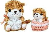Handicraft pack Cute ayumi giguri neko parent and child (Scottish fold)