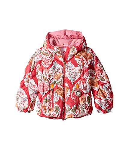 Obermeyer Kids Baby Girl's Cakewalk Jacket (Toddler/Little Kids/Big Kids) Frost Garden Print 8 ()