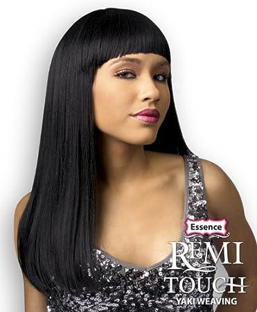 Amazon essence remi touch human hair yaki straight weave 12 essence remi touch human hair yaki straight weave 12quot 1 jet black pmusecretfo Images
