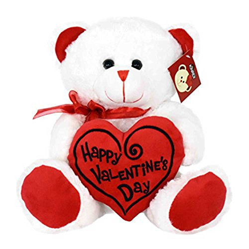 KINREX Soft Stuffed Teddy Bear - Happy Valentine's