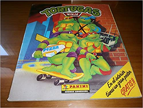 TORTUGAS NINJA - Album Panini - Incompleto: Amazon.es ...