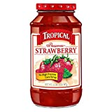 Tropical Preserves, Strawberry, 32 Ounce (Pack of 12)