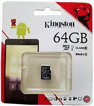 80MBs Works with Kingston Professional Kingston 64GB for Sony Xperia M4 Aqua MicroSDXC Card Custom Verified by SanFlash.