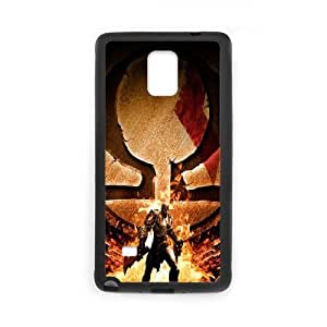 Samsung Galaxy Note 4 phone case Black god of war RRTY7523228