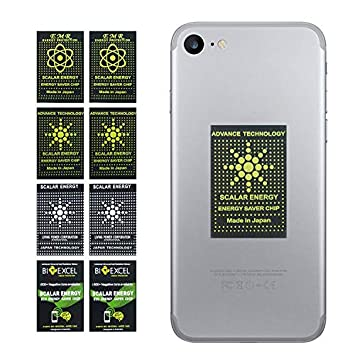 EMF Protection Anti Radiation Shield Sticker for Cellphone, iPad,Laptop-EMF  Neutralizer (8pcs)