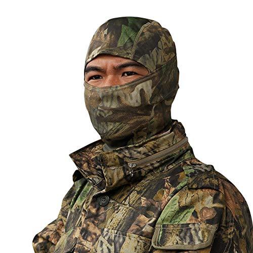 (Zulmaliu Men Women Youth Camouflage Tactical Ski Face Mask Motorcycle Cycling Neck Warmer Balaclava (Z Multicolor, 1PCS))