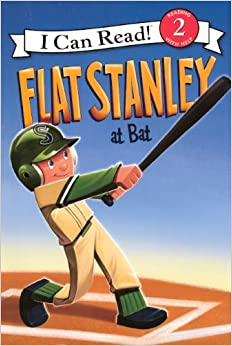 Flat Stanley at Bat (I Can Read Books: Level 2)