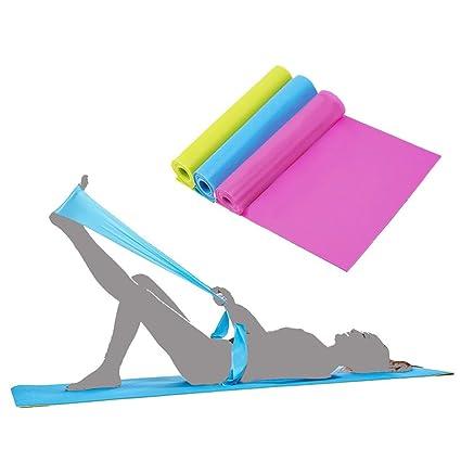 Zhongke Bandas de resistencia al ejercicio Set Yoga ...