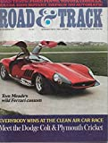 Download 1970 70 December ROAD and TRACK Magazine, Volume 22 Number # 4 (Features: Road Test On Dodge Cot, Plumouth Cricket, Datsun 510 Automatic, Toyota Corolla, Ford Pinto, Porschev 914, & Mazda Rotary) in PDF ePUB Free Online