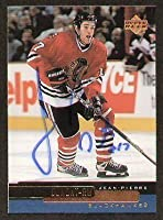 Jean-Pierre Dumont signed autographed Upper Deck Card