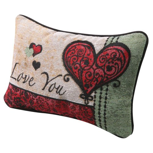 I Love You I Love You More Pillow - Woven Tapestry for sale  Delivered anywhere in USA