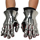Armor Venue: Functional Hourglass Gauntlets Set Metallic One Size