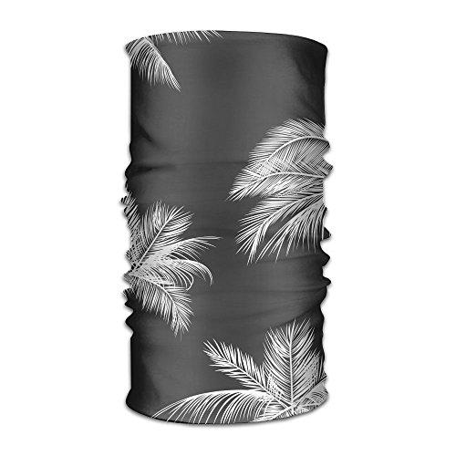 Surprising-pin-by-Chelsea-Jimenez-on-ilustracion-Pinterest-Palm-Leaves-and-iphonepaper-Black-White-Tumblr-Geometric-Pattern Headband Mask Multi-use Sports Hair Band Wide