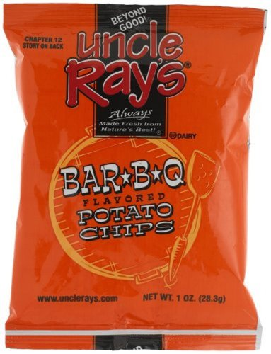 (Uncle Rays Bbq Potato Chips, 2-Ounces (Pack of 24))