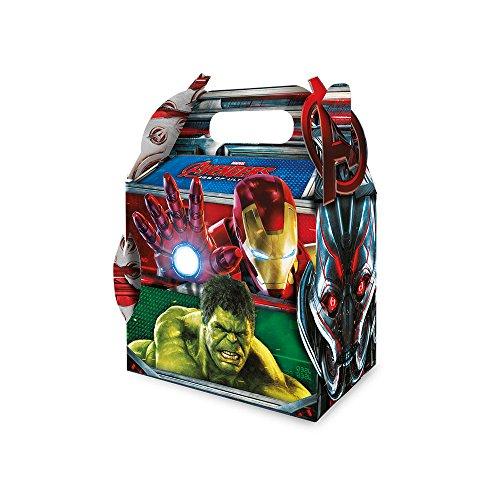 Regina Caixa Surpresa Maleta R68 Avengers 2, 8 Unidades