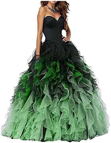4dc91cdf5c5 Meledy Women s Sweetheart Ball Gown Prom Gown Sweet 16 Long Quinceanera  Dresses