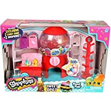 Moose Toys Shopkins Sweet Spot Playset, Features a candy cart and working gumball machine that dispenses toys