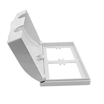 Amazon.com: Caja de seguridad para bebé, color blanco, doble ...