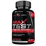 Testosterone Booster for Men - Natural Supplement for Strength, Weight Loss, Endurance, Best Fat Burner to Boost Workouts - Premium Quality Ingredients - 60 Capsules