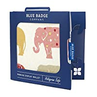 Blue Badge Holder Wallet Fits New Permit Hologram Safe