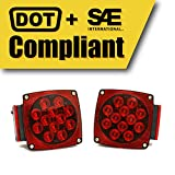 MaxxHaul 70460 12V LED Trailer Tail Light (Turn/Stop/Signal-Left/Right-DOT Compliant)