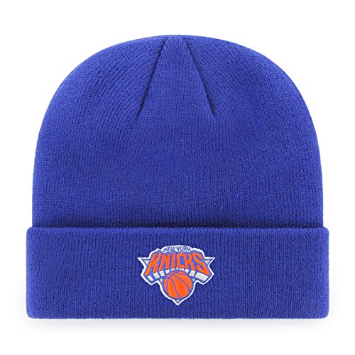 Nba New York Knicks Ots Raised Cuff Knit Cap  Royal  One Size