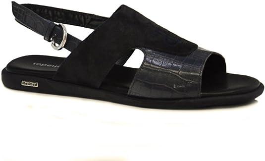 Escarpado Archivo Salvaje  Roberto Botticelli - Sandalias de Vestir para Hombre Negro Negro 44 EU,  Color Negro, Talla 45 EU: Amazon.es: Zapatos y complementos
