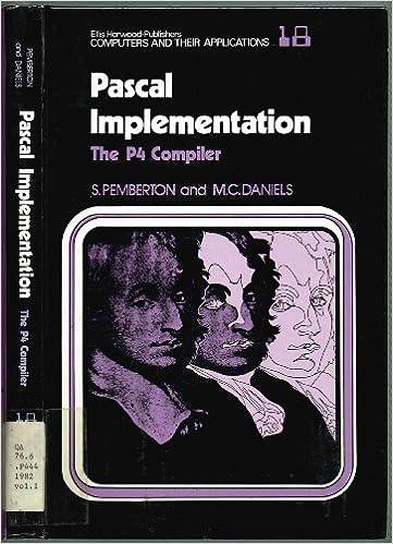 Pascal implementation: The P4 Compiler: Steven Pemberton