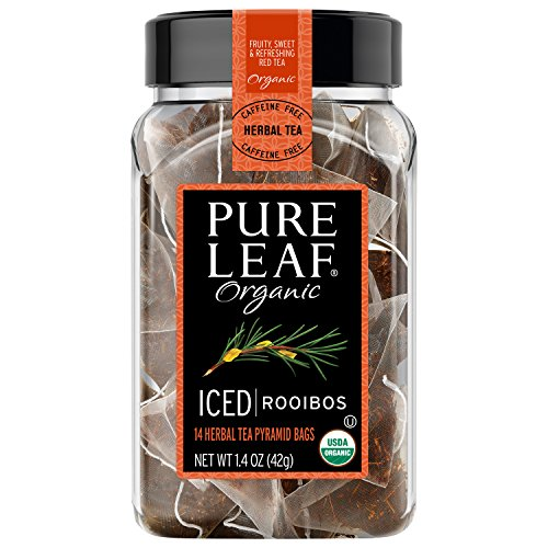 Pure Leaf Iced Tea Bags Organic Rooibos Tea 14 ct, pack of 6 by Pure Leaf