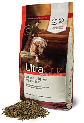 UltraCruz Equine Vitamin B-1 Supplement for Horses, 20 lb, Pellet (335 Day Supply) by UltraCruz