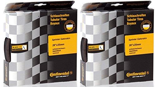 - 2 Pack - Continental Sprinter Gatorskin Tubular Tire 28'' x 25 mm