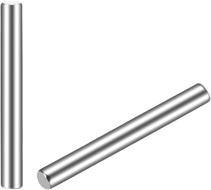Sourcingmap 30 Piezas Dowel Pin 304 Acero Inoxidable Cil/índrico Estante Soporte Pin