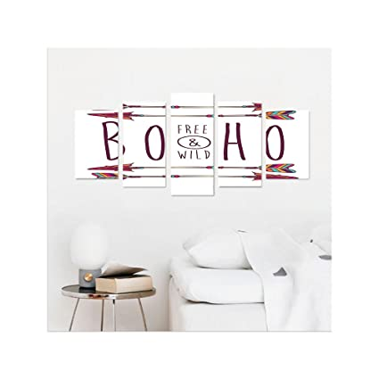 Amazon Liguo48 Custom Canvas Arrow Decor Collection Boho Chic Best Bedroom Layout Planner Free Collection