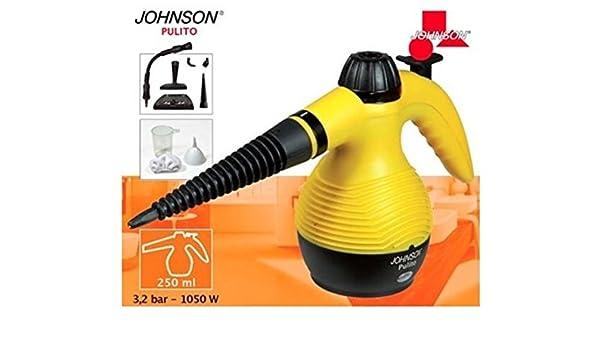 Limpiador a vapor eléctrico 3,2 bar con accesorios Johnson 1050 W: Amazon.es: Hogar